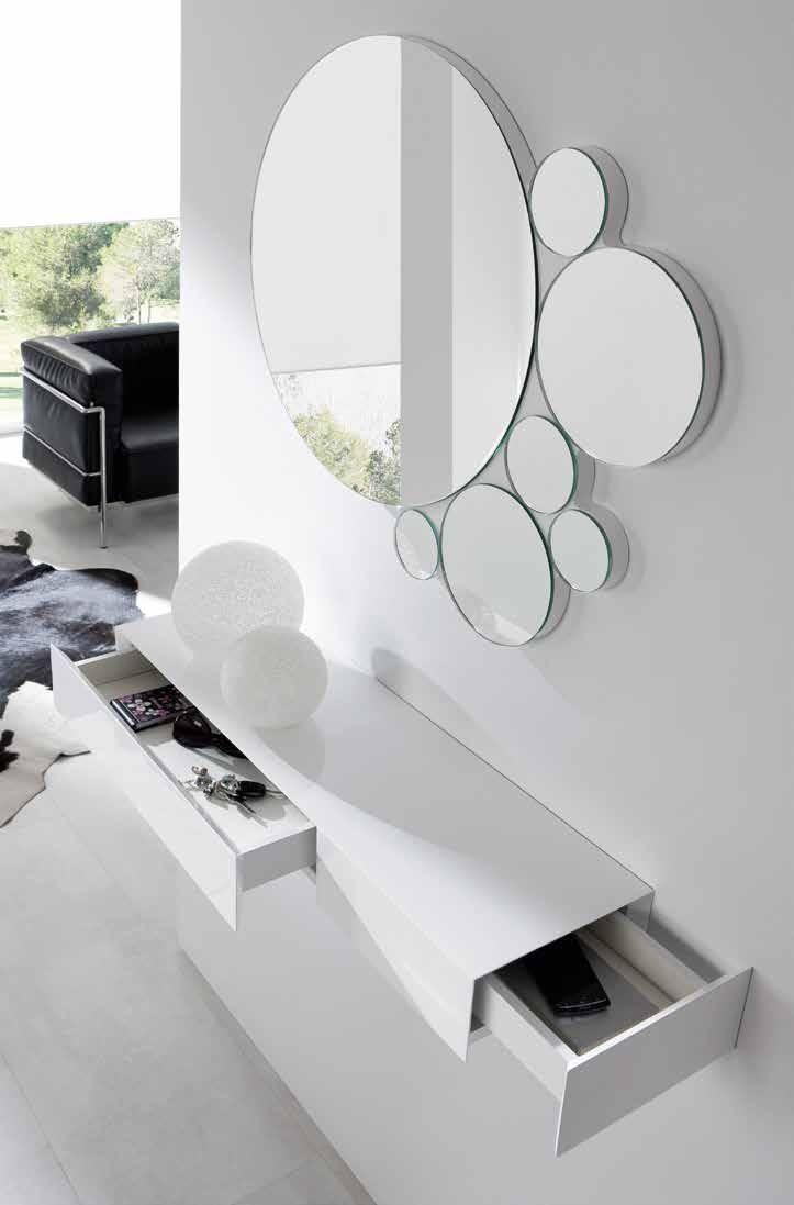 Mueble de entradita recibidor moderno calidad dise o for Mueble recibidor diseno