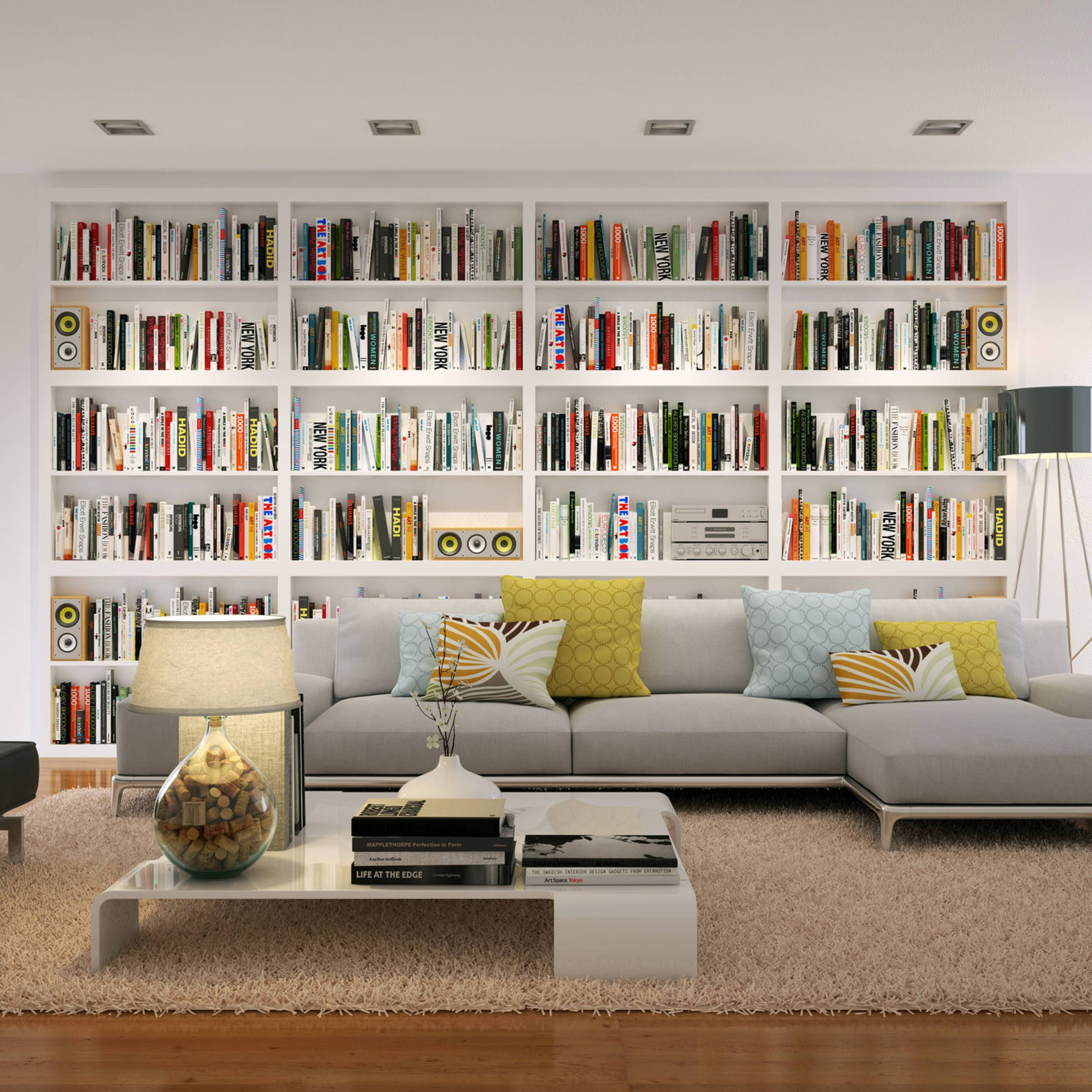 8 Chairs You Ll Want To Sit On Home Library Rooms Home Library Design Bookshelves In Living Room Beautiful living room bookshelf