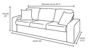 Standard Sofa Dimensions In Meters Sofa Sofa Dimension Outdoor