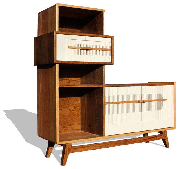 Modern Stereo Cabinet - Maybe better with some glass doors ...