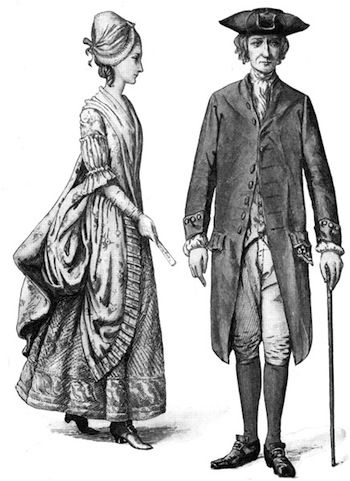 Colonial Clothing Brief Look At Colonial Attire