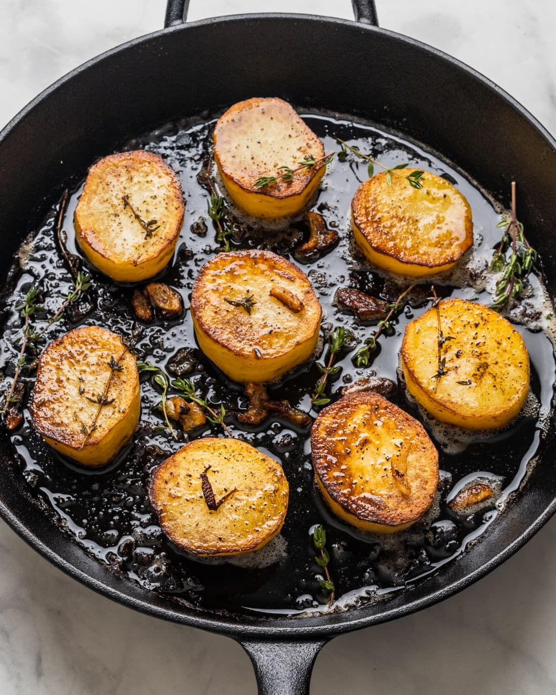 Fondant Potatoes Are The Fanciest Way To Prepare Potatoes Recipe Fondant Potatoes Recipes How To Cook Potatoes