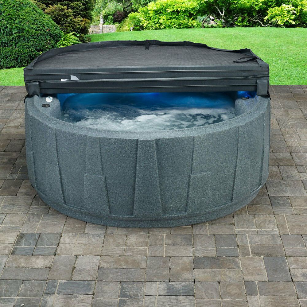 Photo of WEEKEND SALE – 4 PERSON HOT TUB – 20 JETS – PLUG n PLAY – WATERFALL – 3 COLORS #…
