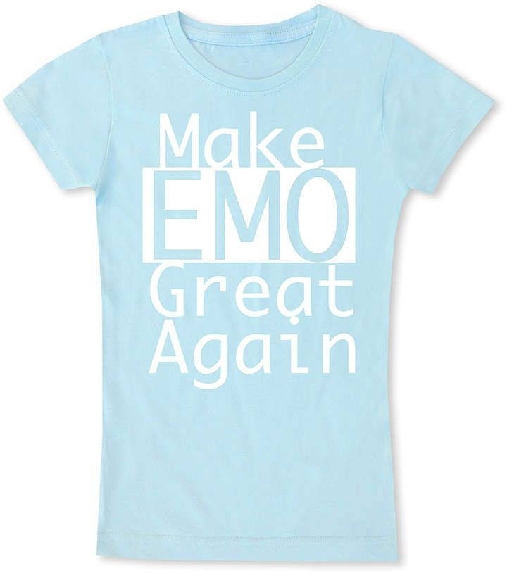 e927e8cd1 Ice Blue 'Make Emo Great Again' Fitted Tee - Toddler & Girls  #wardrobe#black#days