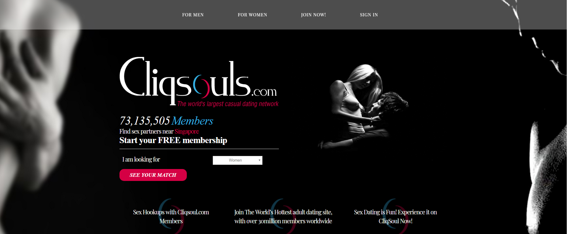 Cliqsouls.com is the hottest adult dating site where you can experience sex  dating, explore your sexuality and view erotic personals.