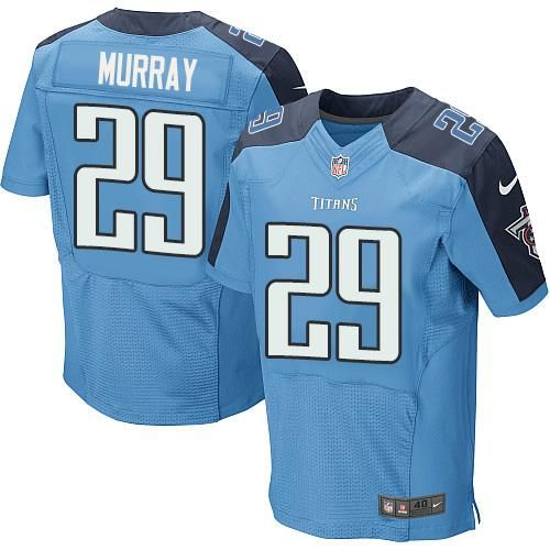 Nike Titans  29 DeMarco Murray Light Blue Team Color Men s Stitched NFL  Elite Jersey And b706871c2