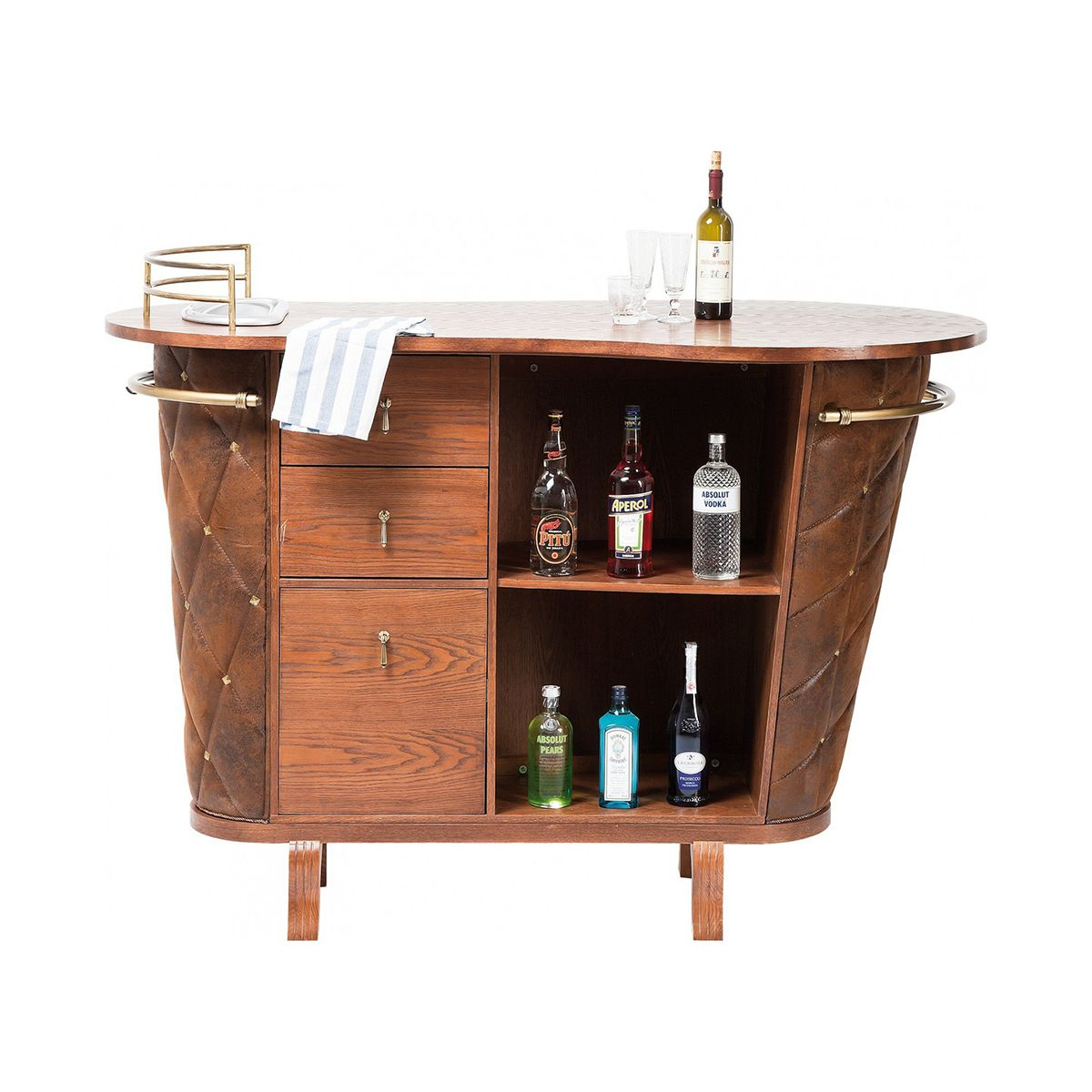 kare design rockstar vintage bar with meuble snack bar. Black Bedroom Furniture Sets. Home Design Ideas