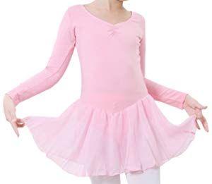 58b08491f2 Happy Cherry - Traje de Baile Vestido Tutú de Ballet Falda Corta de Danza  Maillot Ropa