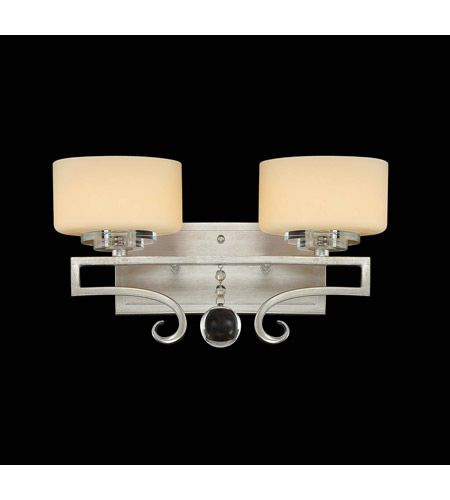 Savoy House 8 257 2 307 Rosendal 2 Light 15 Inch Silver Sparkle Bath Light Wall Light Vanity Lighting Bathroom Light Fixtures Bath Light
