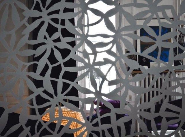 cloison en papier facon dentelle w641h478 d co. Black Bedroom Furniture Sets. Home Design Ideas