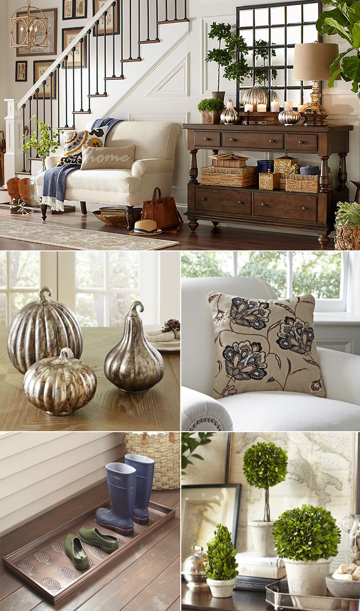 An Entryway Thats Comfortable Inviting And Styled With Pieces You Love Is The Perfect Way To Welcome Everyone Who Walks Through Your Door