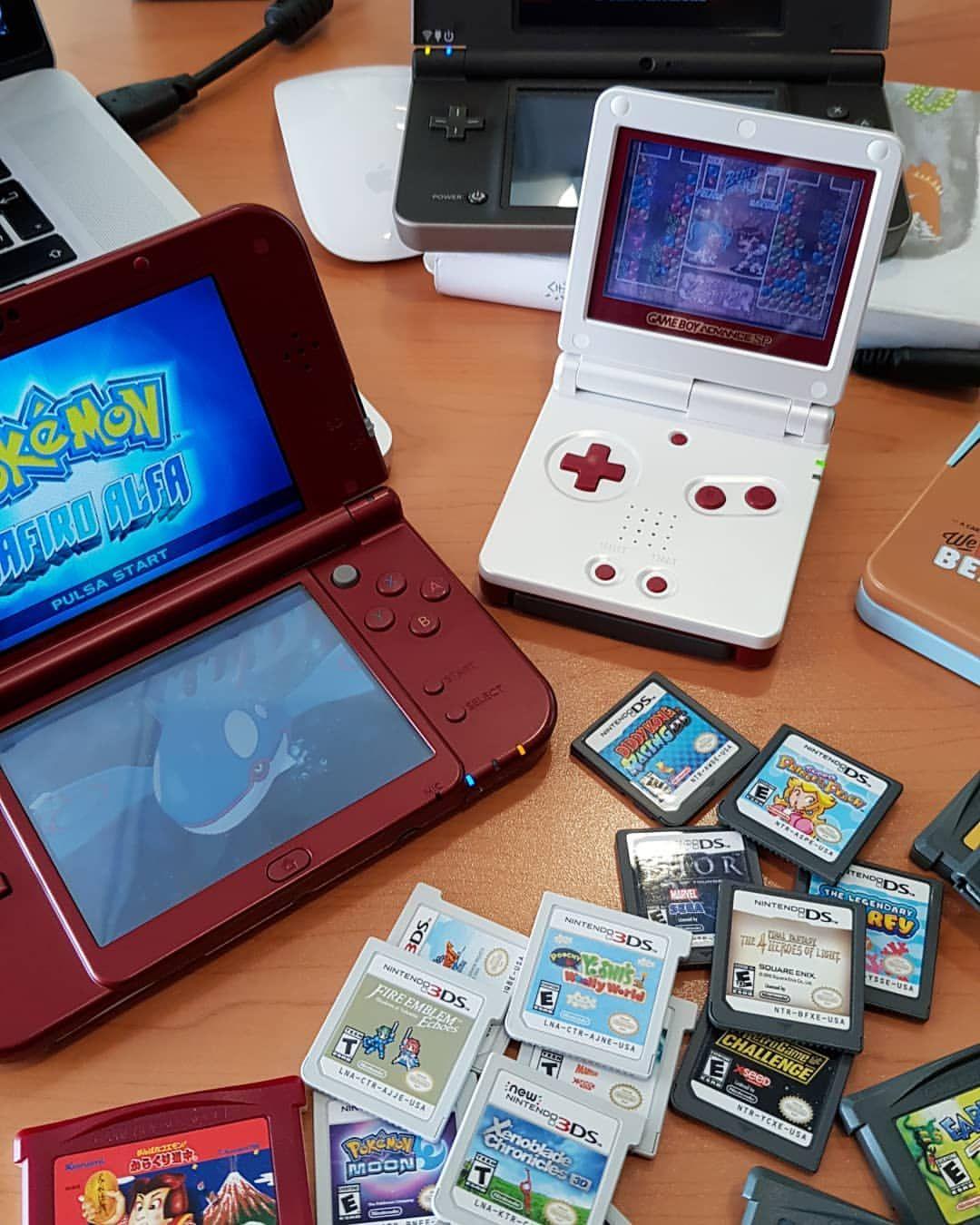 Nintendo 3ds Gameboy Advanced Nintendo3ds Retrocollective Nintendocollect Nintendo 3ds Gameboy Nintendo