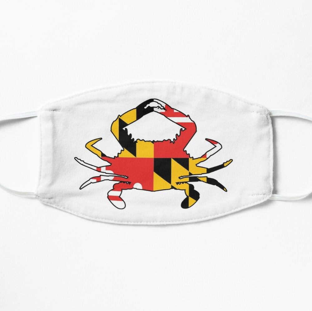 Get My Art Printed On Awesome Products Support Me At Redbubble Rbandme Https Www Redbubble Com I Mask Maryland Crab B In 2020 Maryland Crabs Mask Cotton Tote Bags