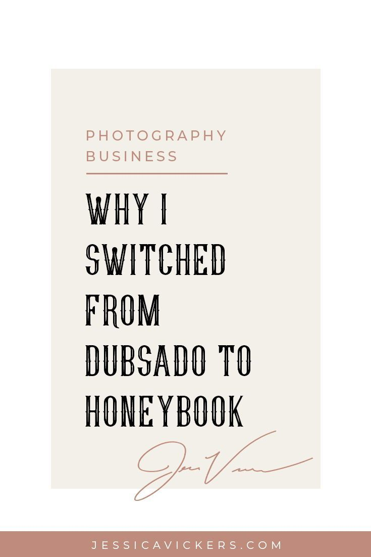 On the market for a CRM in your photography business and torn on which to pick? Click here for the inside scoop on why I switched from Dubsado to Honeybook!  #photographybusiness #dubsado #honeybook #photographytips #business #smallbusiness #photographybu