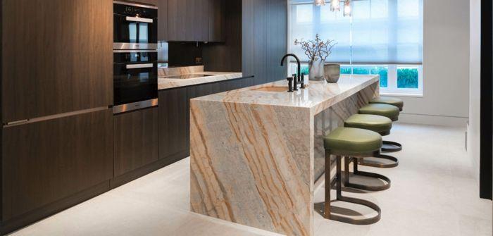 granitarbeitsplatten küchengestaltung kücheneinrichtung ideen Küche - küchen mit granit arbeitsplatten