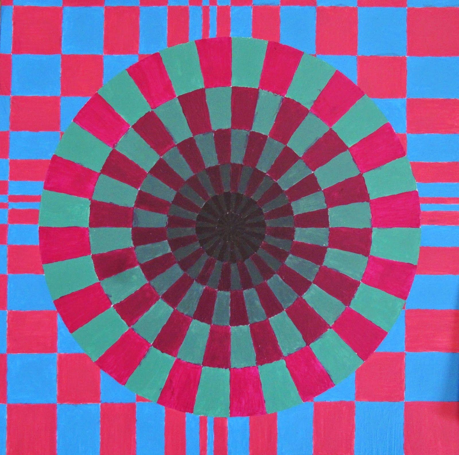 Картинки иллюзии цвет