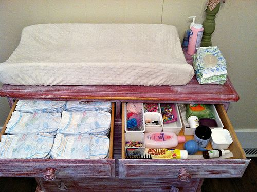 Cute Whitewashed Dresser Turned Changing Table Goes W O Mentioning Never Leave