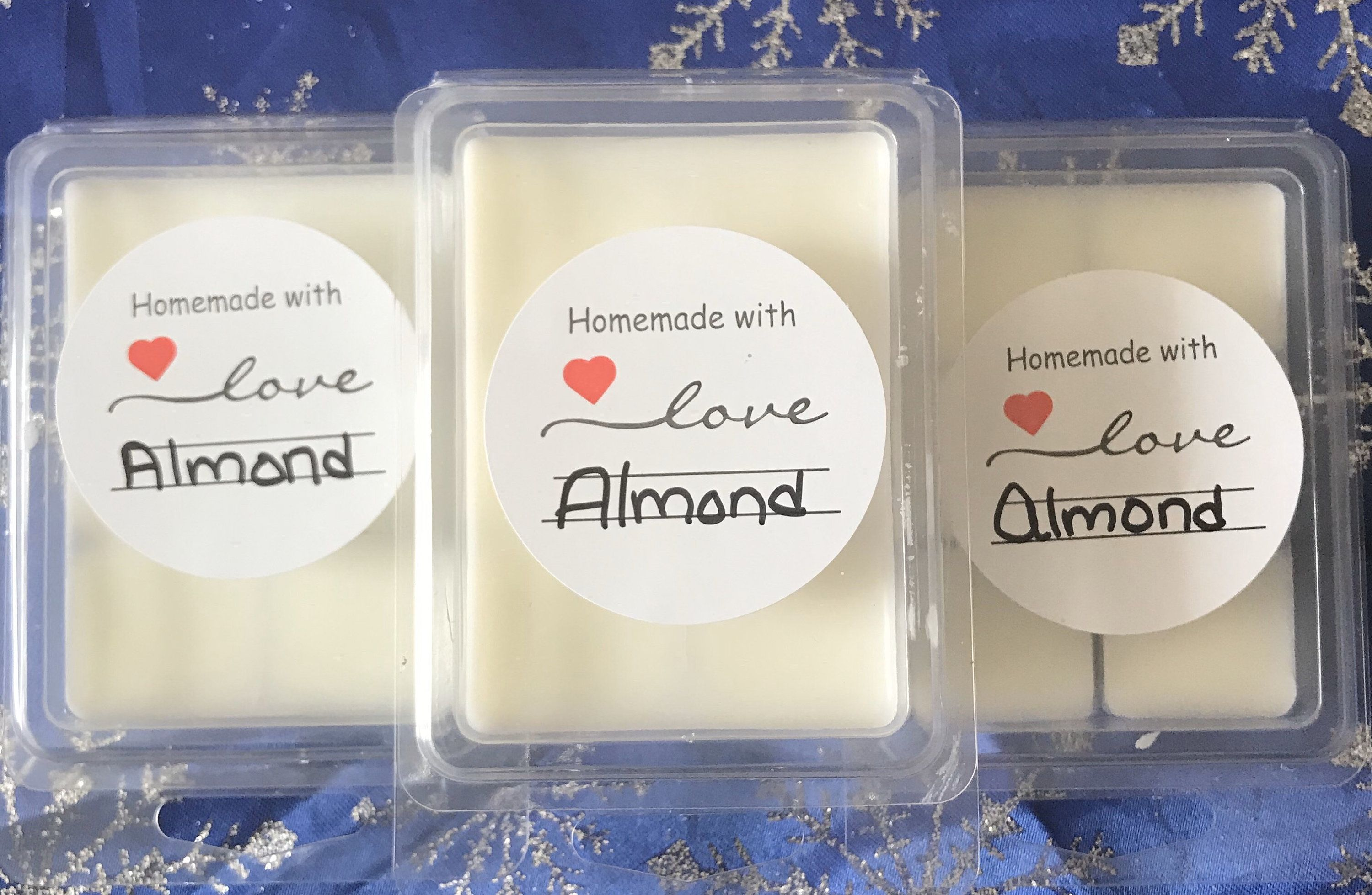Excited To Share The Latest Addition To My Etsy Shop Almond Soy Wax Melt Https Etsy Me 2ovnofn Candles Tart Almond Frag In 2020 Soy Wax Melts Wax Melts Soy Wax