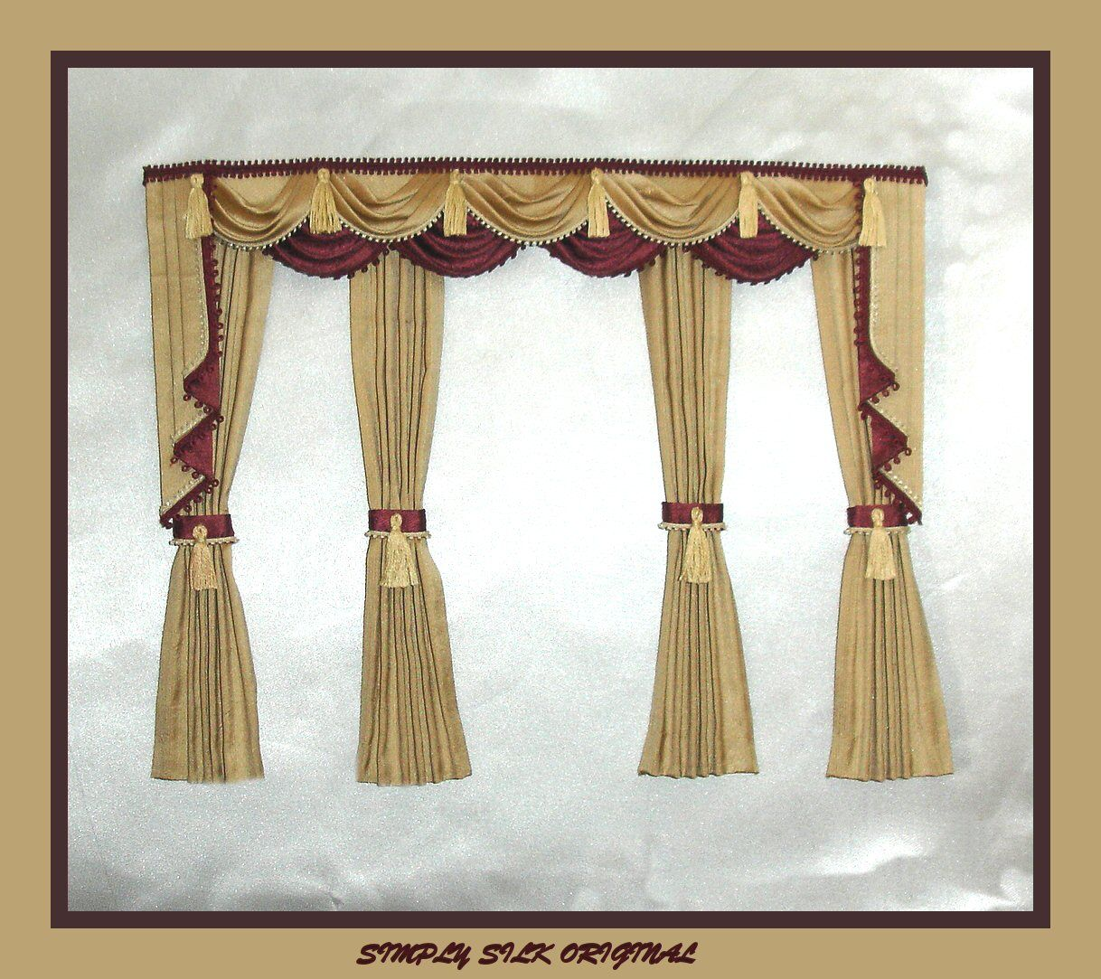 Fancy curtains 31bay window curtains made on a pliable for Fancy window design