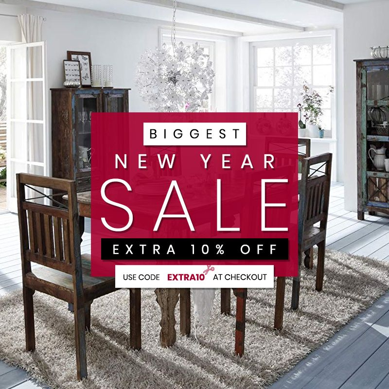 Biggest New Year Sale.. Get Extra 10% Off On Top Of Sale