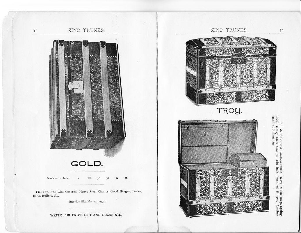 1897 Seward Trunk & Bag Co. 1897