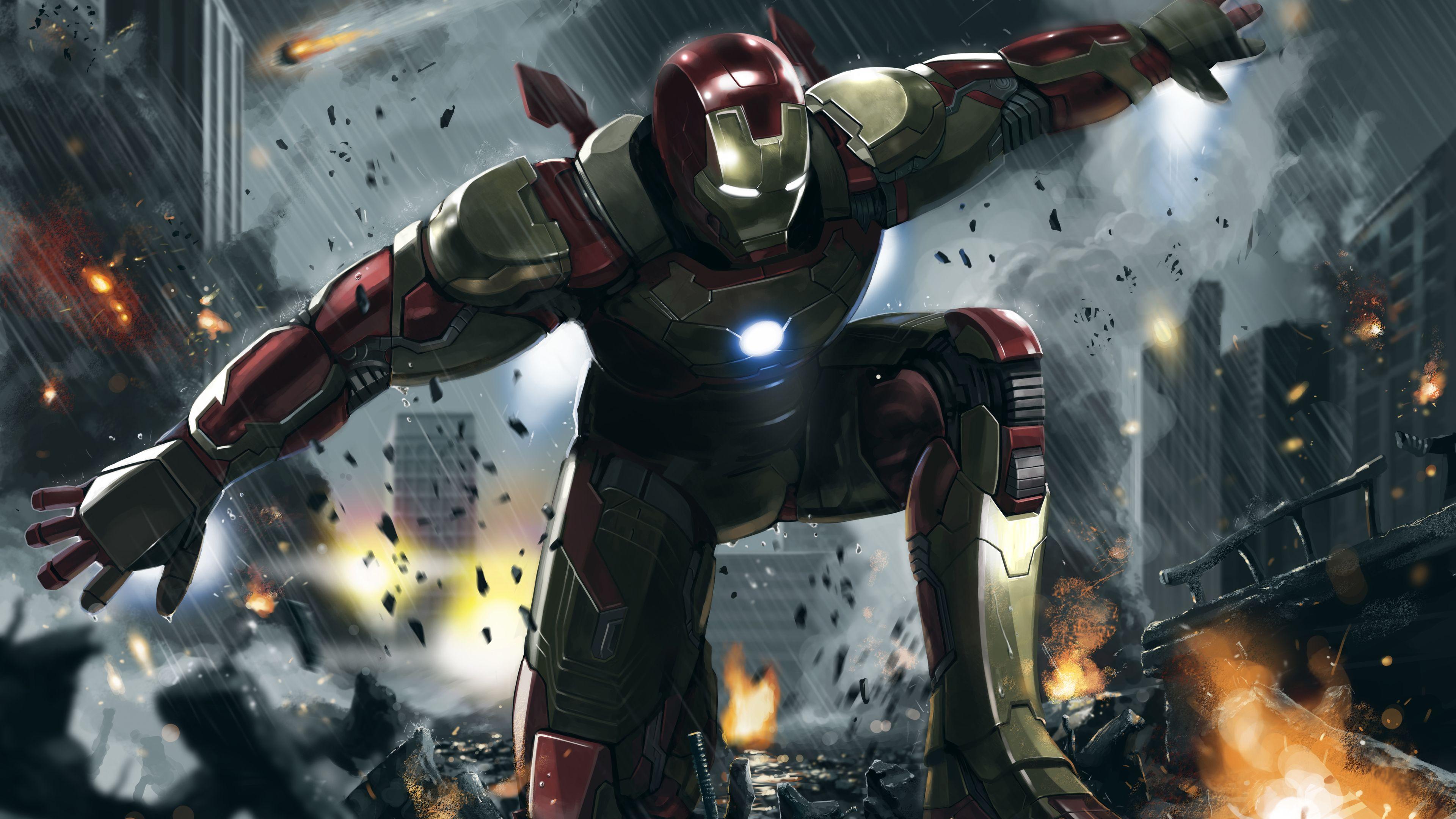 Iron Man 3 Art 4k Superheroes Wallpapers Iron Man Wallpapers Hd Wallpapers Digital Art Wallpapers Artwork Wallp Iron Man Wallpapers Superhero Man Wallpaper