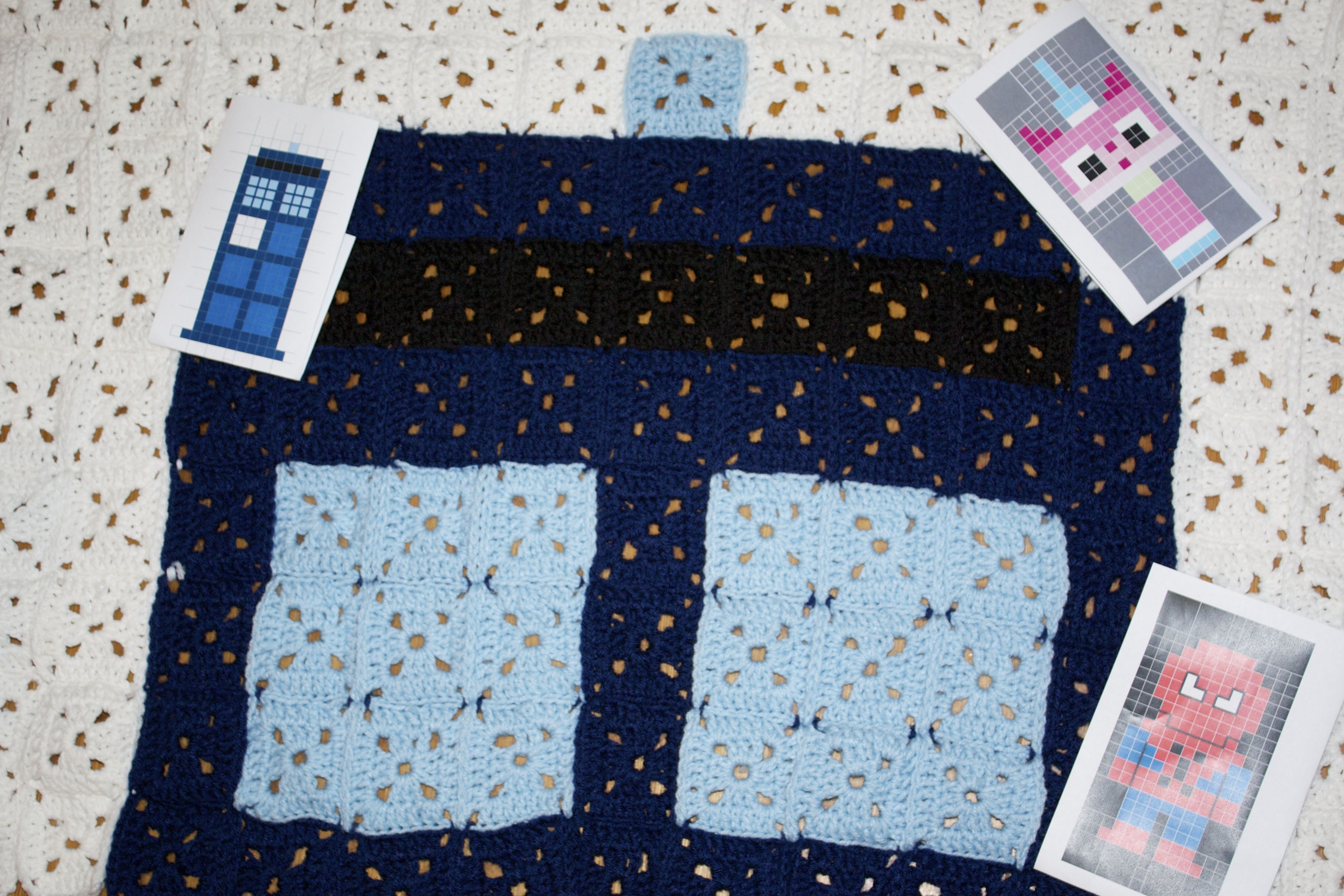Easy 8-Bit Afghans to Knock Your Granny\'s Socks Off