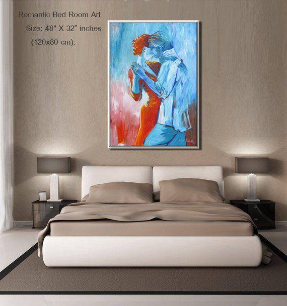 Canvas Art, Living Room Art, Original Artwork, Dancers Art