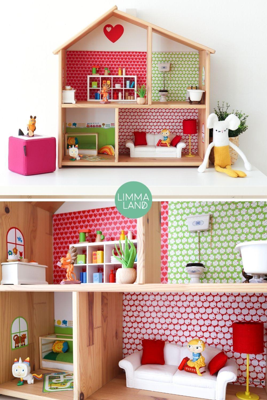 Dekorationsfolie byGraziela für IKEA FLISAT Puppenhaus