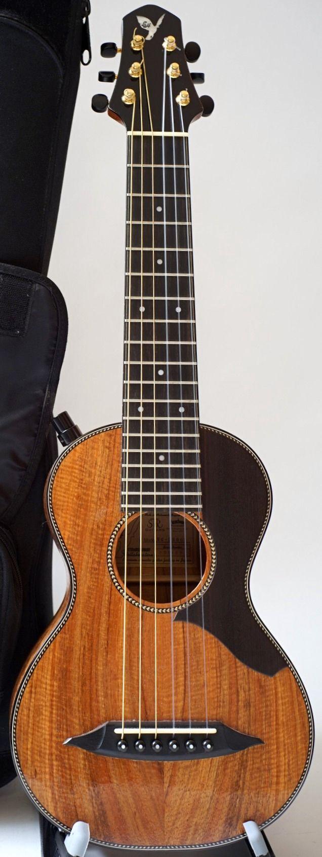 [Uke of the day 2016] STR Guitars SH Guitalele --- https://www.pinterest.com/lardyfatboy/