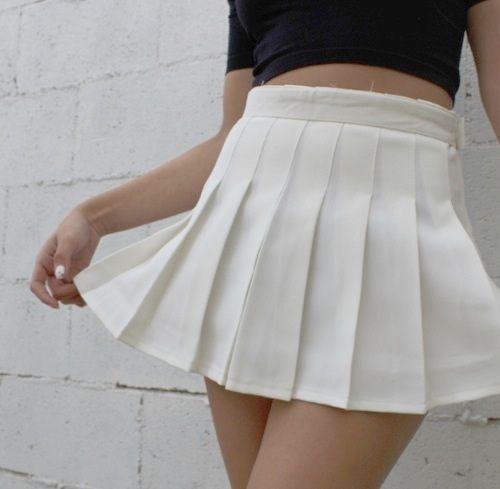 Alexandria Pleated Tennis Skirt White Pleated Tennis Skirt Tennis Skirt