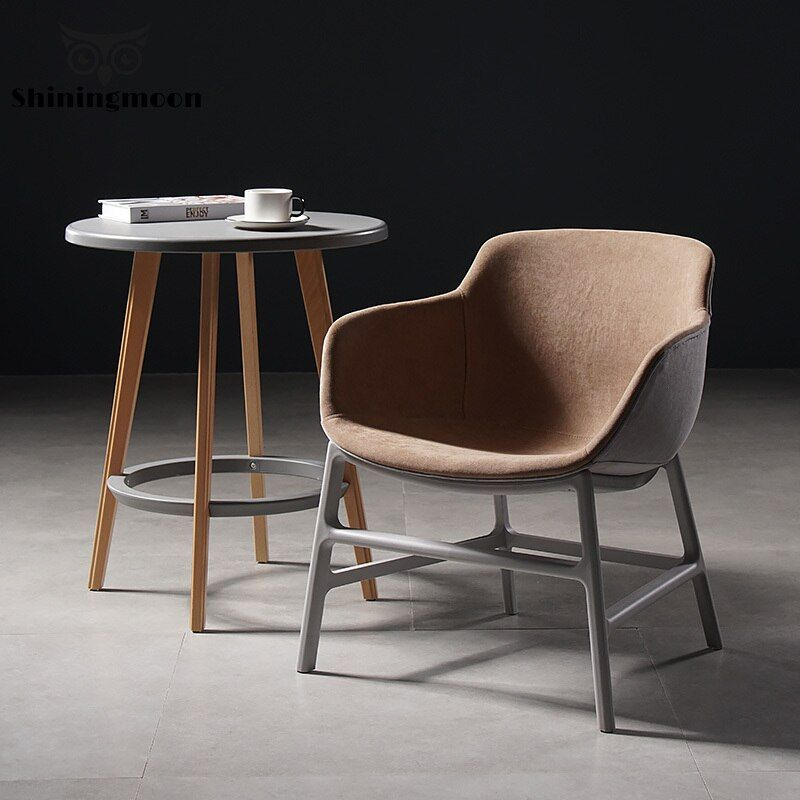 Buy Modern Casual Single Small Sofa Chair Study Bedroom Office Chair Dining Room Chairs Restaurant Suitable Lo Small Sofa Chair Small Sofa Dining Room Chairs