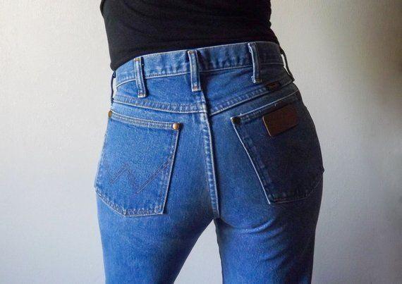 d3e5ea16 Vintage Wrangler Jeans | Men's Wrangler Jeans | Women's Wrangler Jeans |  High Waisted Wrangler | Mad