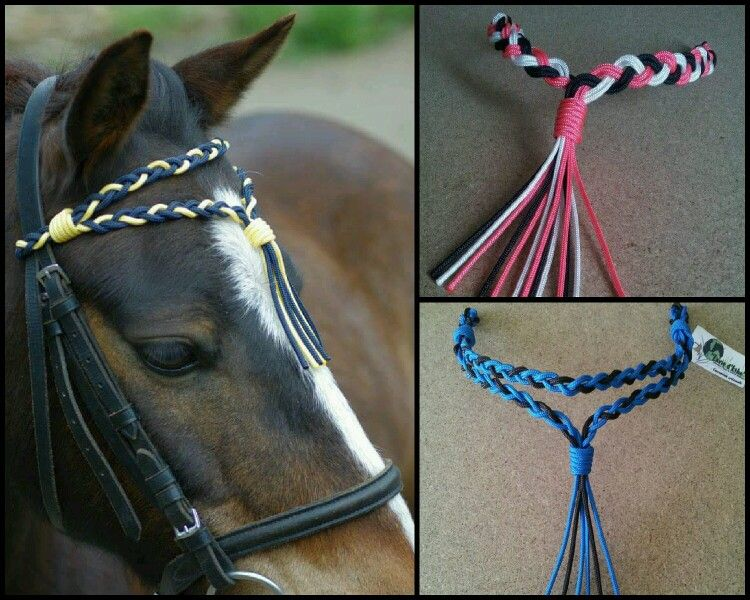 unique handmade leather horse browband