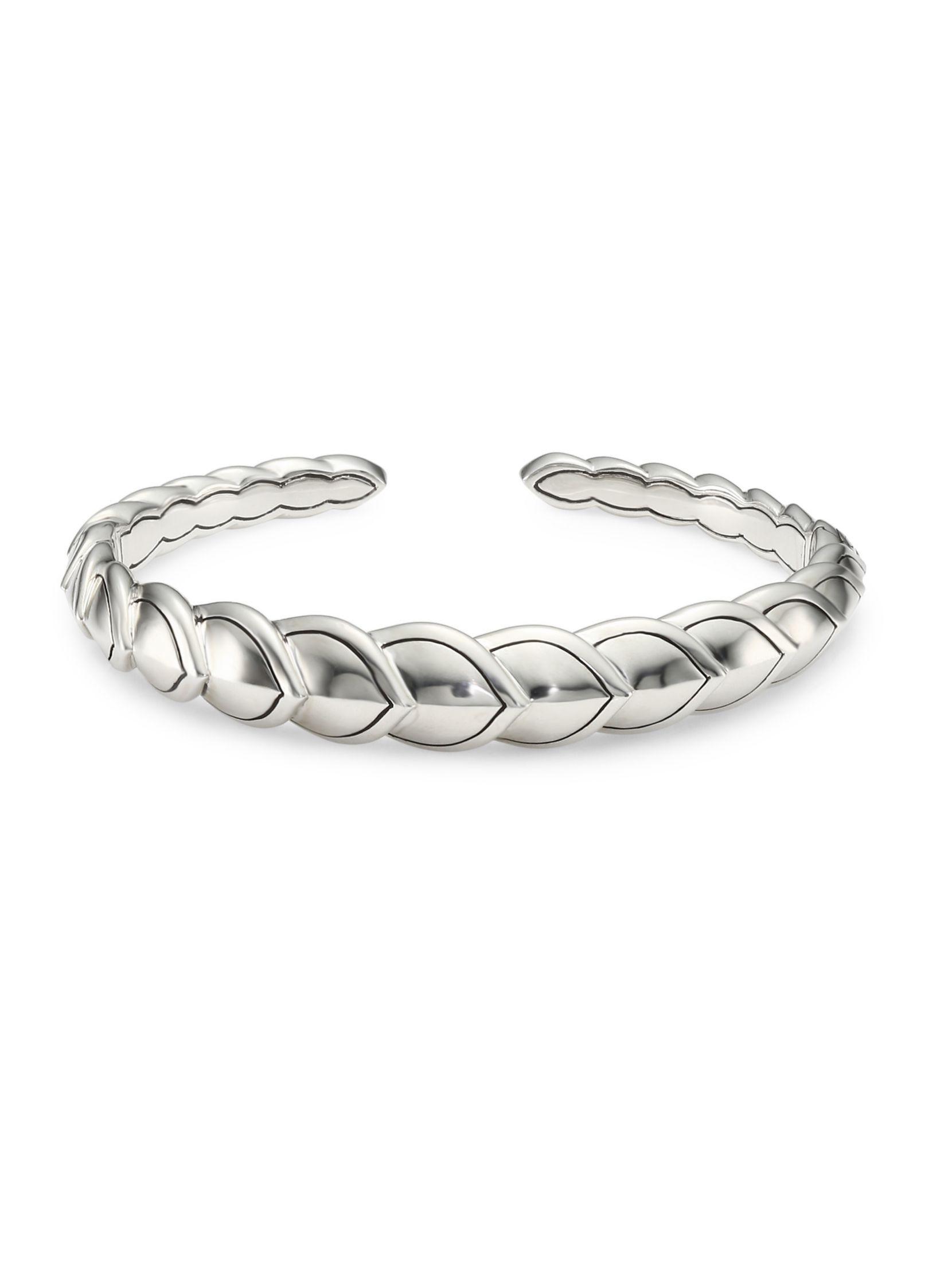 John hardy legends naga silver small flex cuff accessories pinterest