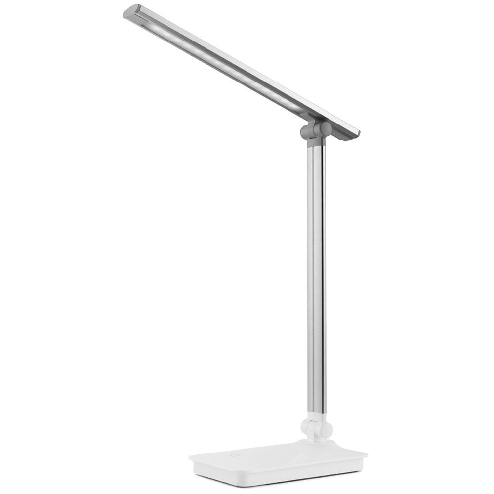 Desk Lamp Invesch Usb Powered Modern Led Table Lamp 3 Level Dimmable Student Lamp Portable And Foldable For Computer Offi Lamp Led Table Lamp Diy Computer Desk