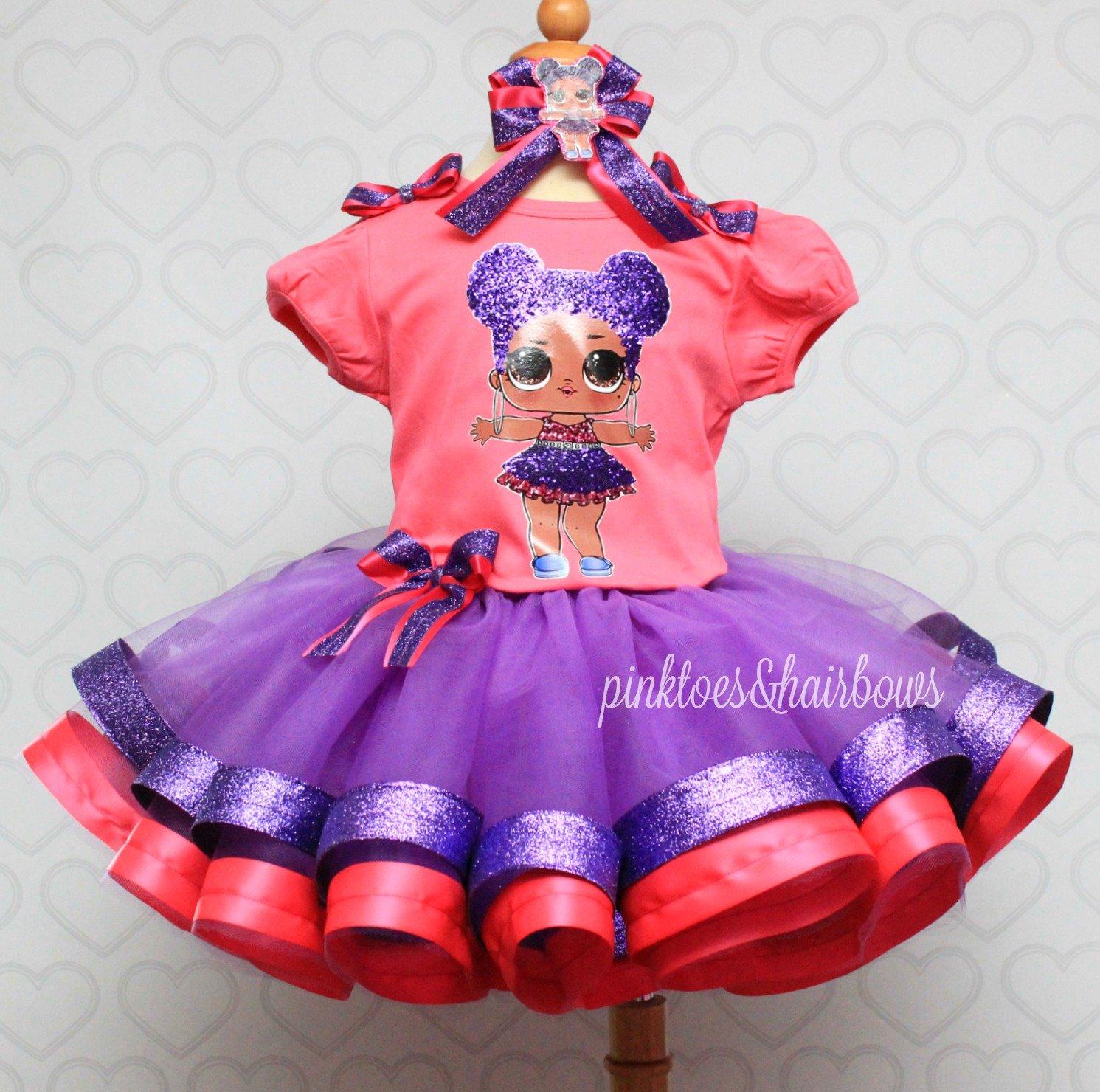 bef672316 Purple Queen lol surprise doll tutu set-Purple queen lol surprise ...