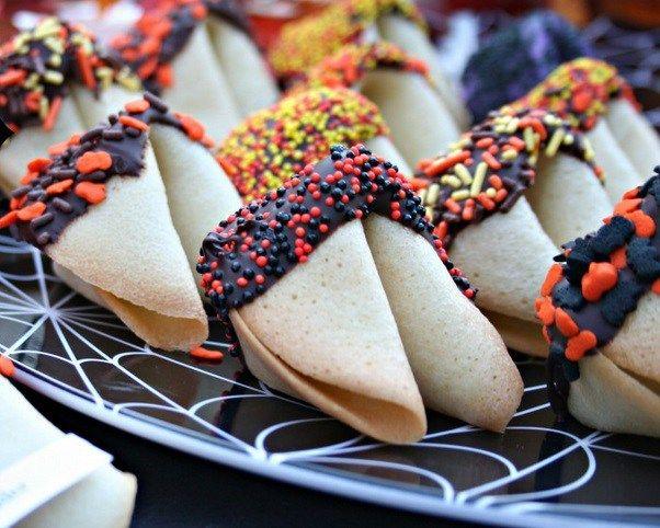 halloween fortune cookies