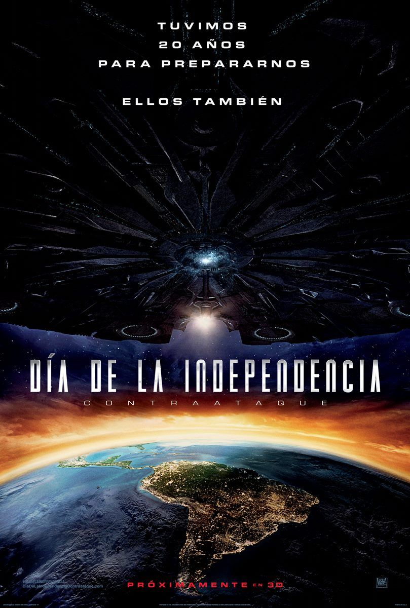 Dia De La Independencia 2 Independance Day Contraataque Pelicula Completa Espanol Latino Hd Good Movies Streaming Movies Free Movies Online