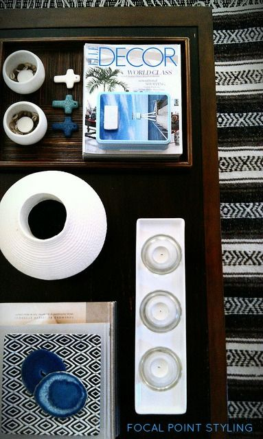 Coffee Table Styling - Summer