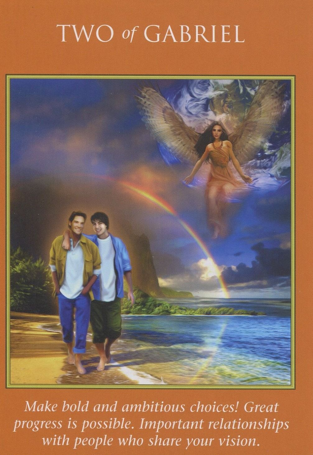 Archangel power tarot card deck angel cards reading