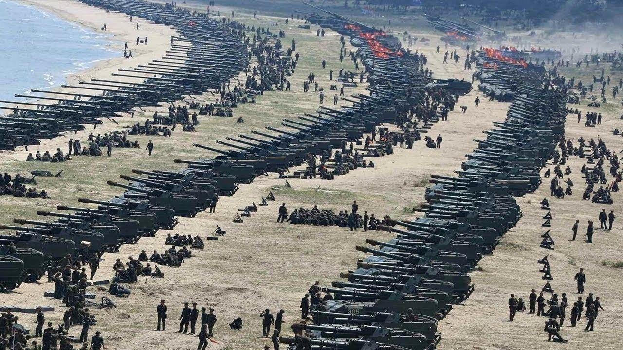 Top 5 Ejércitos Más Poderosos Del Mundo Corea Del Norte Artilleria Corea