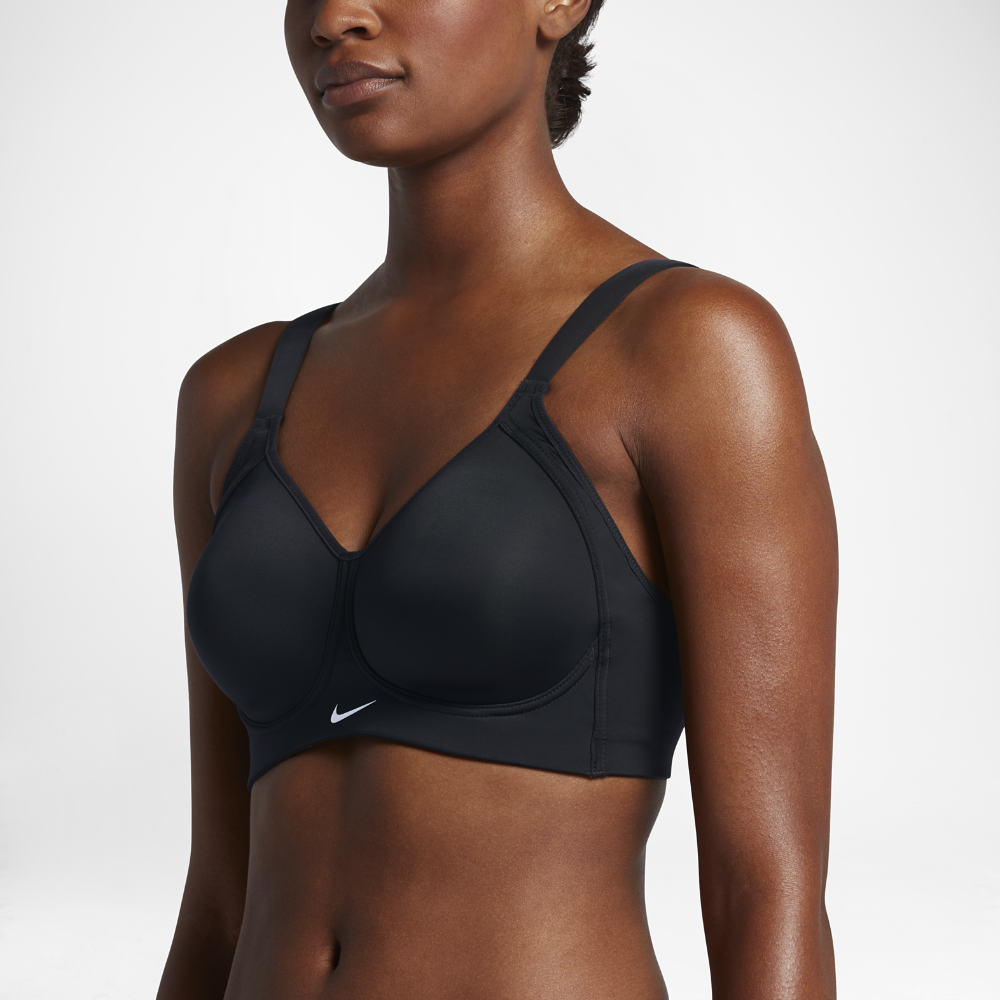73c3909465 Nike Pro Hero Women s High Support Sports Bra Size 38DD (Black ...