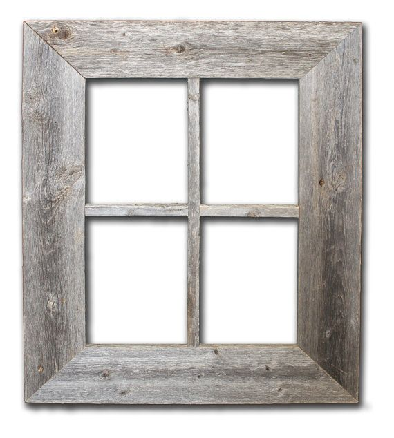 Rustic Barn Wood Window Frame(not for pictures)   bench   Pinterest ...