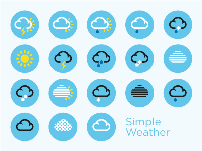 Simpleweather Simple Weather Weather Icons Free Icons Png