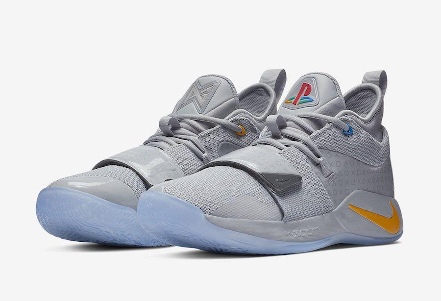 """PlayStation x Nike PG 2.5 """"Wolf Grey"""