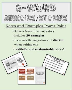 6 Word Memoir Examples Covid