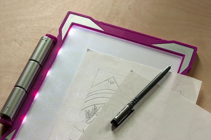 Toolbox Crayola Light Up Tracing Pad Product Review Cvi