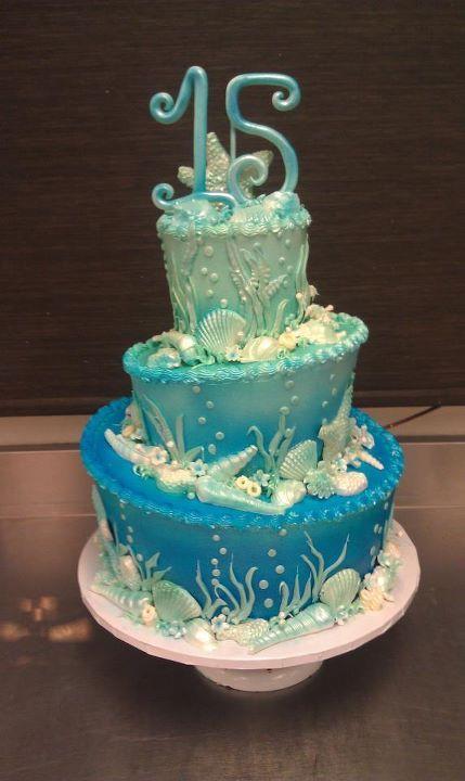 Seashell Birthday Cake In Luv3 Nautical Kids Room