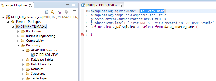 Display SQL DDL source codes of SAP CDS views in SAP GUI using ABAP